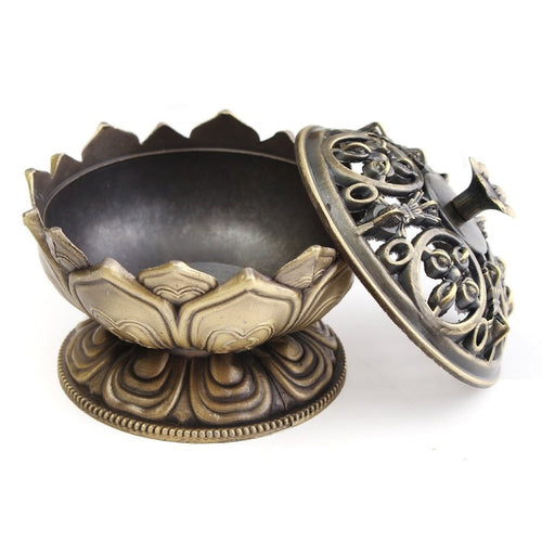 Incense Burner Lotus Flower - The Clothing Corp