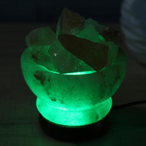Himalayan Crystal Salt Lamp - The Clothing Corp