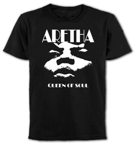 Men's Aretha Franklin Queen of Soul T-Shirts - The Clothing Corp