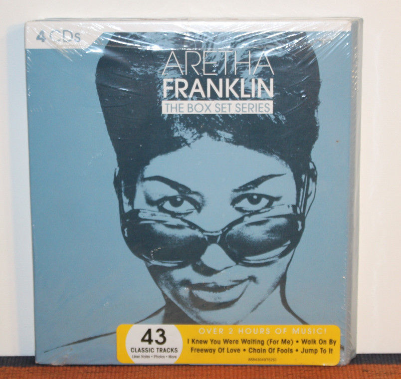 Aretha Franklin THE BOX SET SERIES 4CDs - The Clothing Corp
