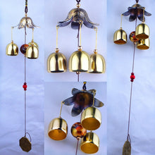 Wind Chimes  Copper 3  Bells - The Clothing Corp
