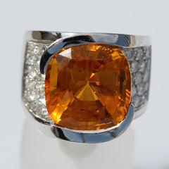 Honey Sapphire ring for sale