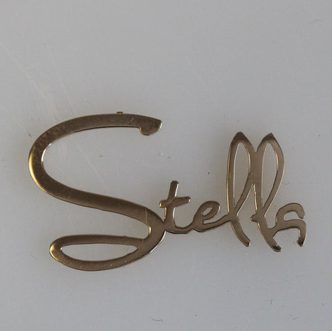 Your Name in Custom Gold