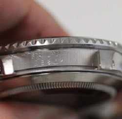 Rolex Serial numbers between the lugs