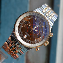 Load image into Gallery viewer, Breitling Navitimer C23340 Rose Gold and Stainless