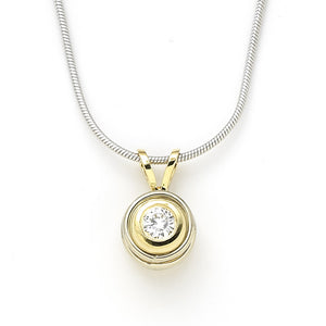 Diamond Pendant DaBeers- 0.18 CT