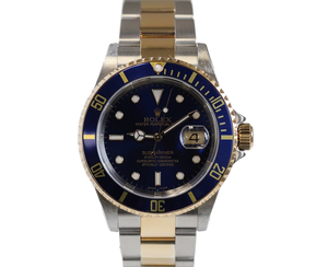 Rolex Two-Tone Submariner 16613 F