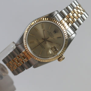 Rolex Steel and gold Two Tone Datejust Midsize 68273