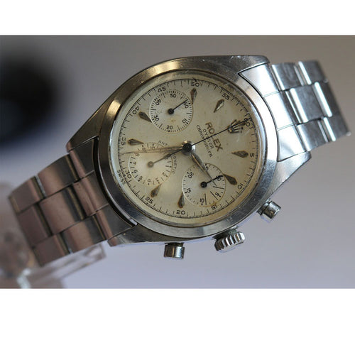 Rolex Mens Stainless Steel 6234 Pre Daytona Anti Magnetic