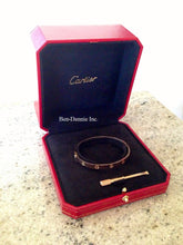 Load image into Gallery viewer, Cartier Love Bracelet 18k Rose Size 17