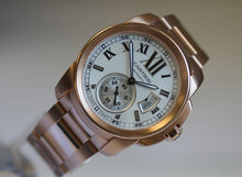 Load image into Gallery viewer, Cartier Rose Gold Calibre W7100040