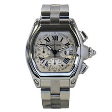 Load image into Gallery viewer, Cartier Mens Steel XL Roadster Chronograph 2618