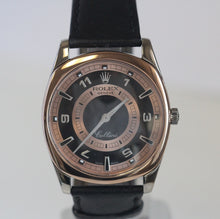 Load image into Gallery viewer, Rolex Cellini Mens Danos 4243 Rose and White Gold 18k