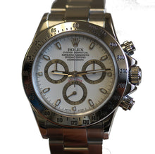 Load image into Gallery viewer, Rolex Mens Stainless Daytona D Serial White 116520