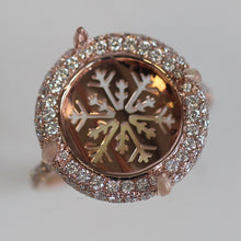 Load image into Gallery viewer, Pink Gold Opal Ring