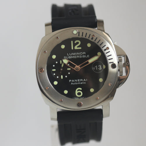 Panerai Pam 024 Luminor Submersible 44mm Box and Papers