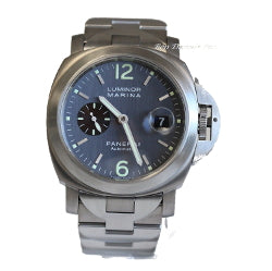 Panerai Pam 091 Titanium Anthracite Watch Mens