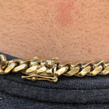 "Load image into Gallery viewer, New Cuban Link Chain 26"" 149 grams of SOLID 14K gold 9mm"