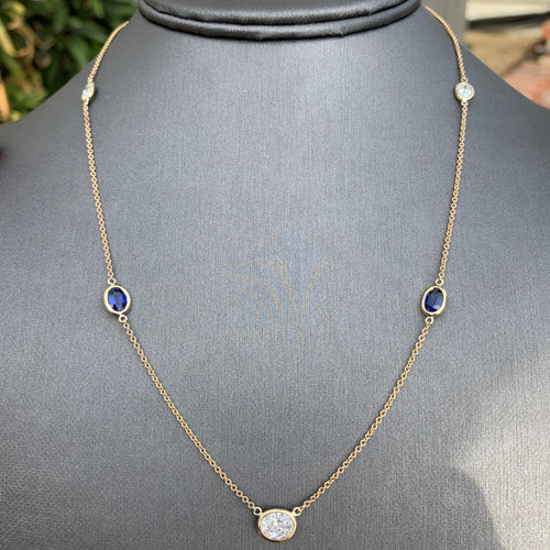 2.50 Carat TW Approx. Diamonds & Sapphire By The Yard , Ben Dannie