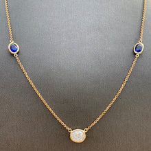 Load image into Gallery viewer, 2.50 Carat TW Approx. Diamonds & Sapphire By The Yard , Ben Dannie