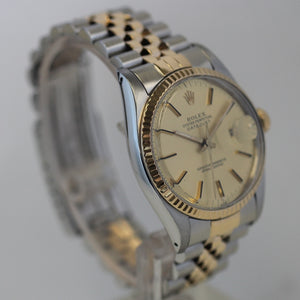 Rolex Mens Two Tone Steel and Gold Datejust 16013