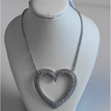 Load image into Gallery viewer, Tiffany Metro Heart Diamond Necklace