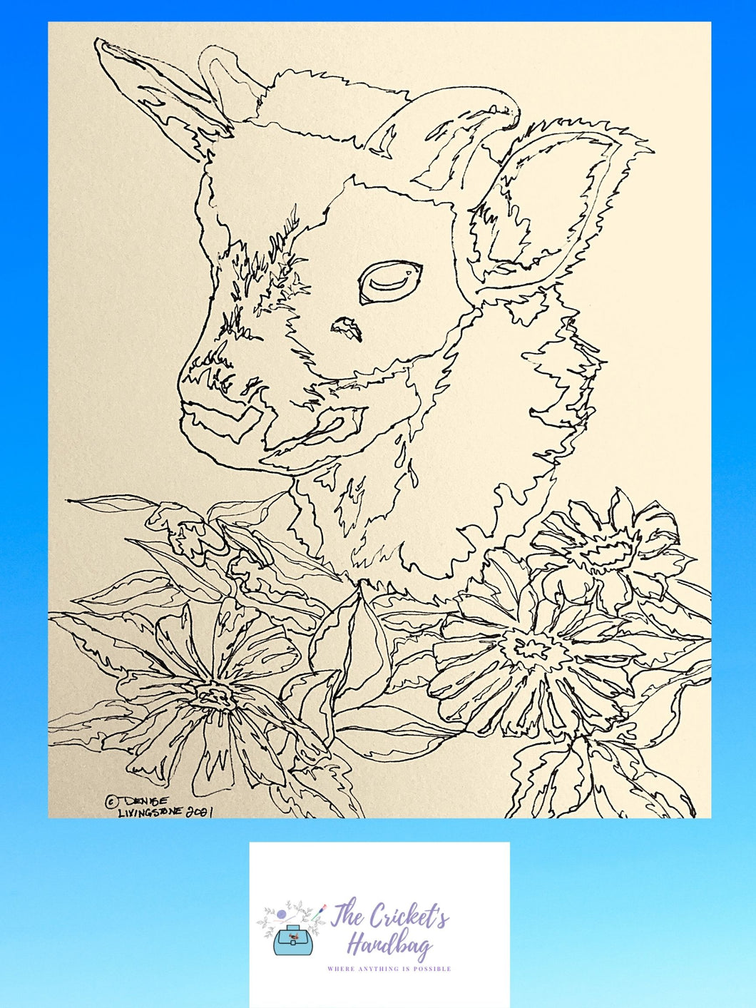 Free Colouring Page - Skippy