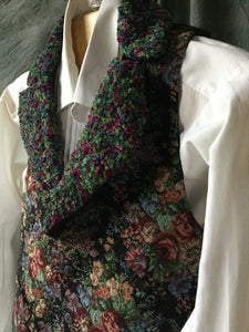 Ladies tapestry vest