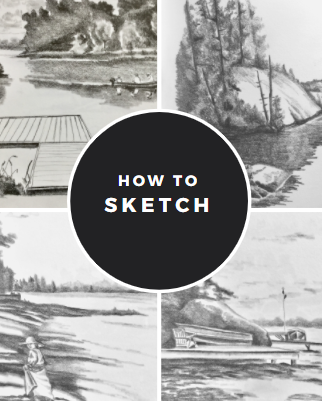 How to sketch booklet-electronic download