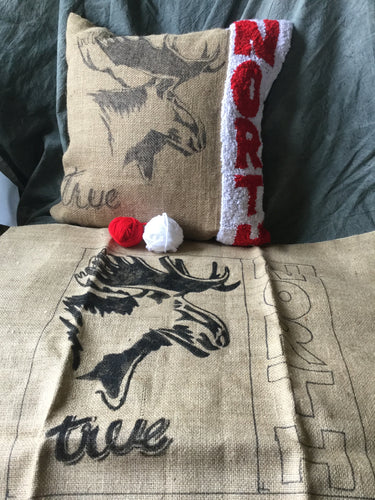 True north rug Hooking Kit