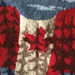 Oh Canada wall hanging pattern
