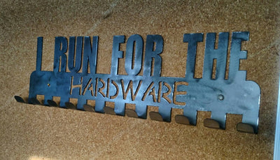 I Run For The Hardware Medal Display
