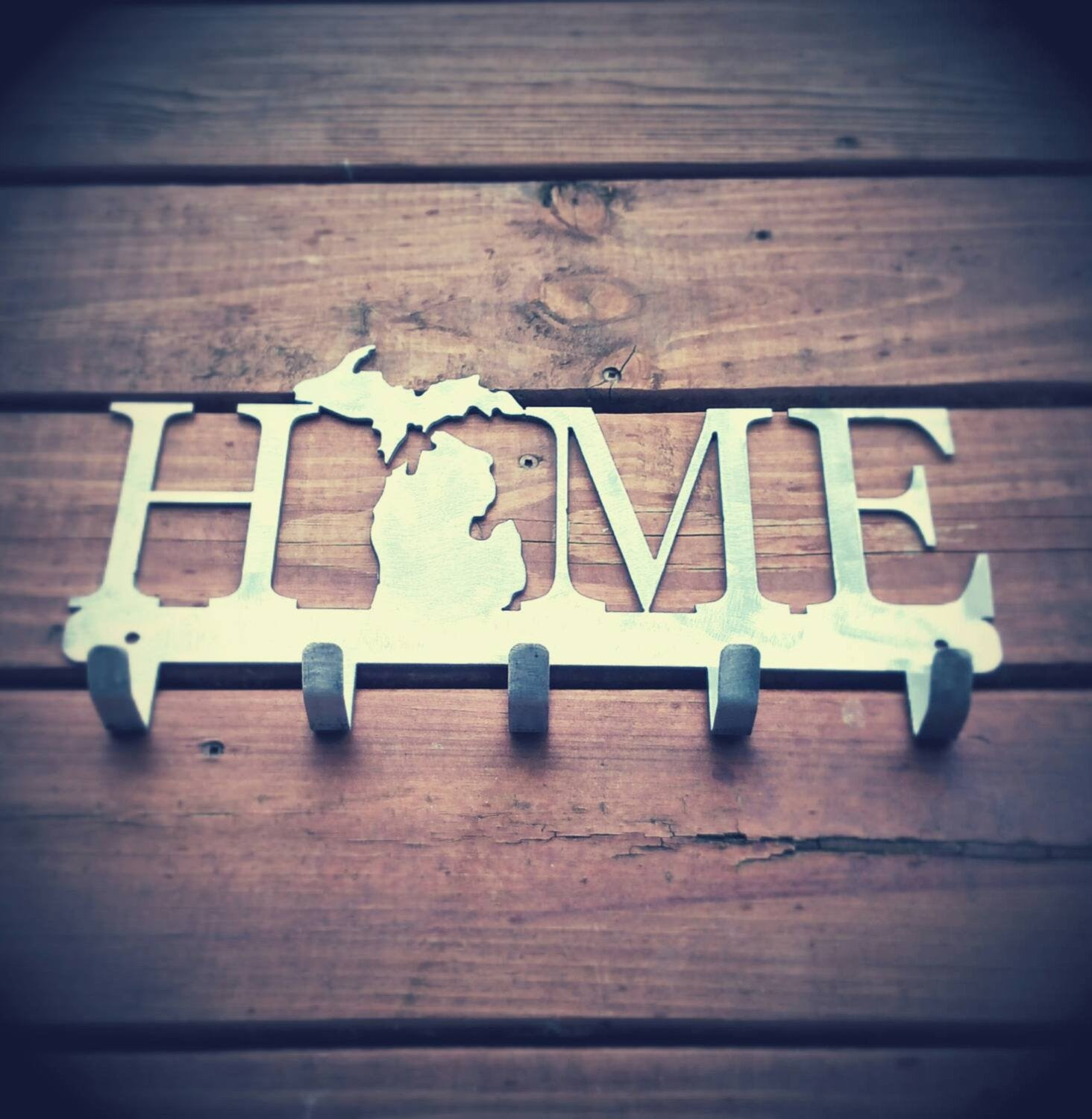 Michigan Home Key Hanger