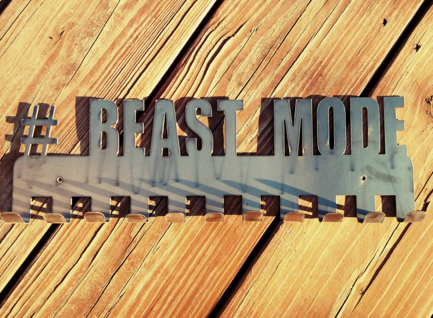 Beast Mode #Beast Mode medal display