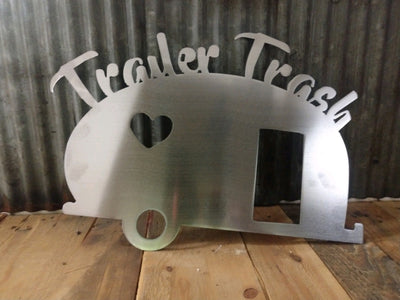 Trailer Trash Steel Decor