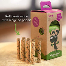 Earth Rated Dog Poop Bags, Guaranteed Leak-proof, Lavender-scented, 8 Rolls, 15 Doggy Bags Per Roll