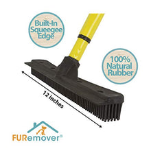 Evriholder FURemover, Pet Hair Removal Broom with Squeegee & Telescoping Handle