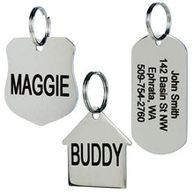 GoTags Stainless Steel Pet ID Tags