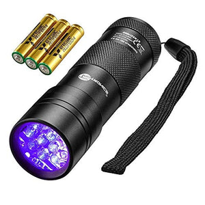 Blacklight Flashlight Detector for Pet Urine and Stains