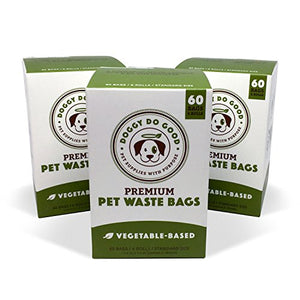 Biodegradable Dog Poop Bags | Compostable Dog Waste Bags