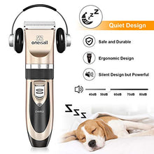 Dog Shaver Clippers Low Noise, Rechargeable & Cordless