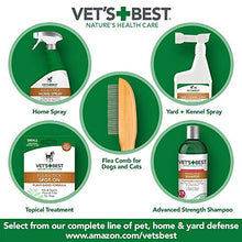 Vet's Best Flea and Tick Home Spray | Flea Treatment for Dogs and Home | 32 Ounces