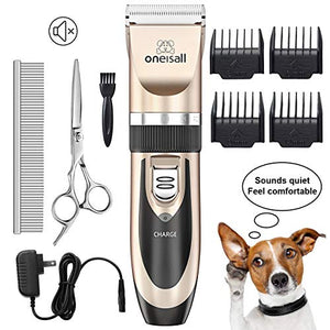 Dog Shaver Clippers Low Noise Rechargeable & Cordless