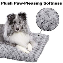 Ombré Swirl Dog Bed & Cat Bed | Gray 17L x 11W x 1.5H (Toy Dog Breeds)