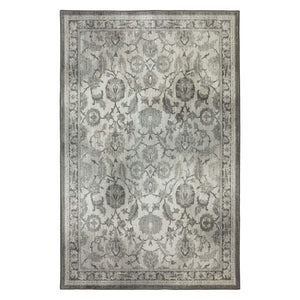 Pet Friendly Euphoria New Ross Ash Grey Rug stain resistant pet proof area rug karastan affordable online