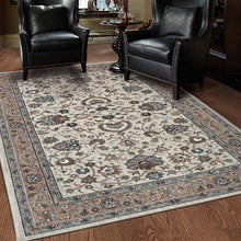 pet friendly area rugs stain resistant pet proof dog cat proof karastan euphoria ulster cream area rug