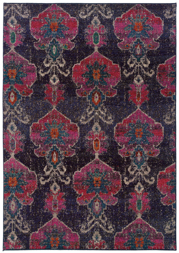 Pet Friendly Kaleidoscope 1140v Rug oriental weavers transitional stain proof pet friendly area rug