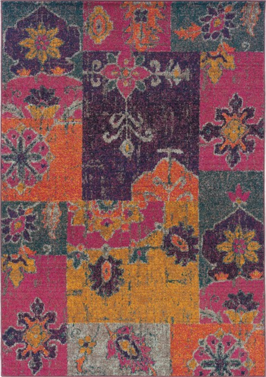 Pet Friendly Kaleidoscope 2060v Rug oriental weavers pet friendly area rug