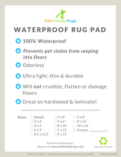 pet friendly waterproof rug pad stain resistant good for pets pet urine online pet friendly area rugs carpet