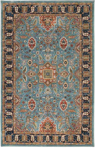 Pet Friendly Spice Market Deir Aquamarine Rug stain resistant area rug good for pets and kids karastan spice market rugs